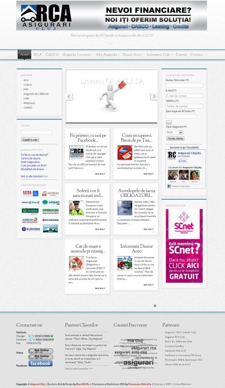 Web Design Cluj - Asigurari-Cluj