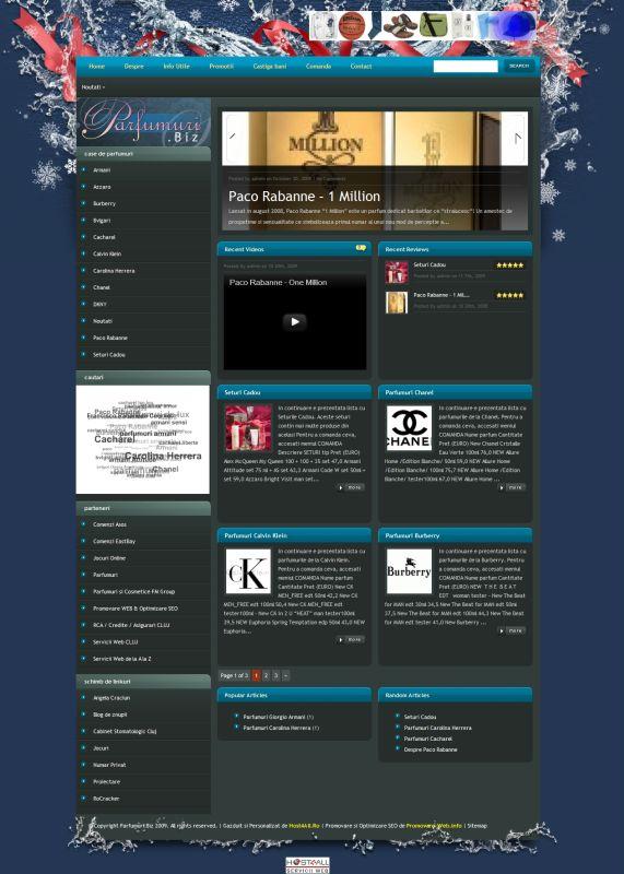 Web Design Cluj - Parfumuri
