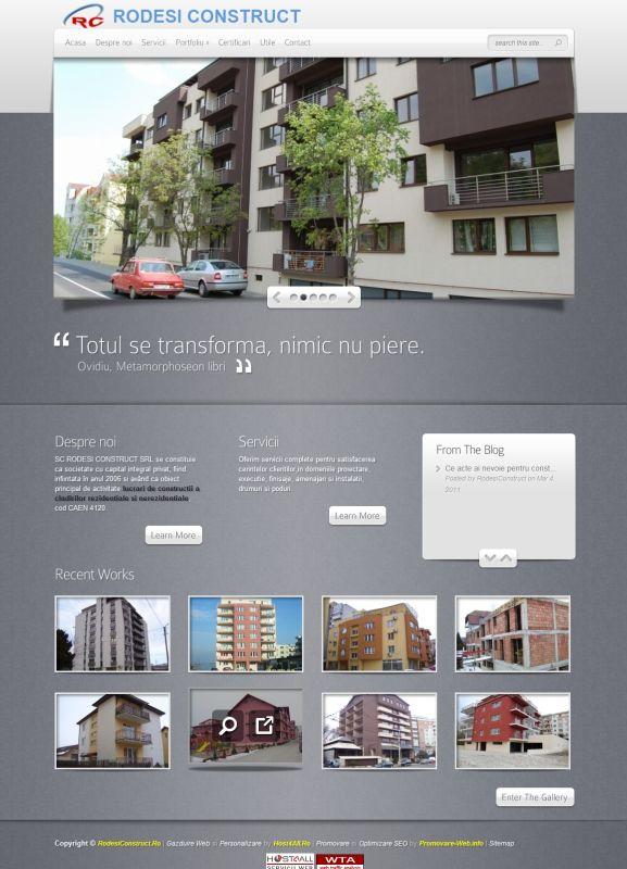 Web Design Cluj - Rodesi Construct