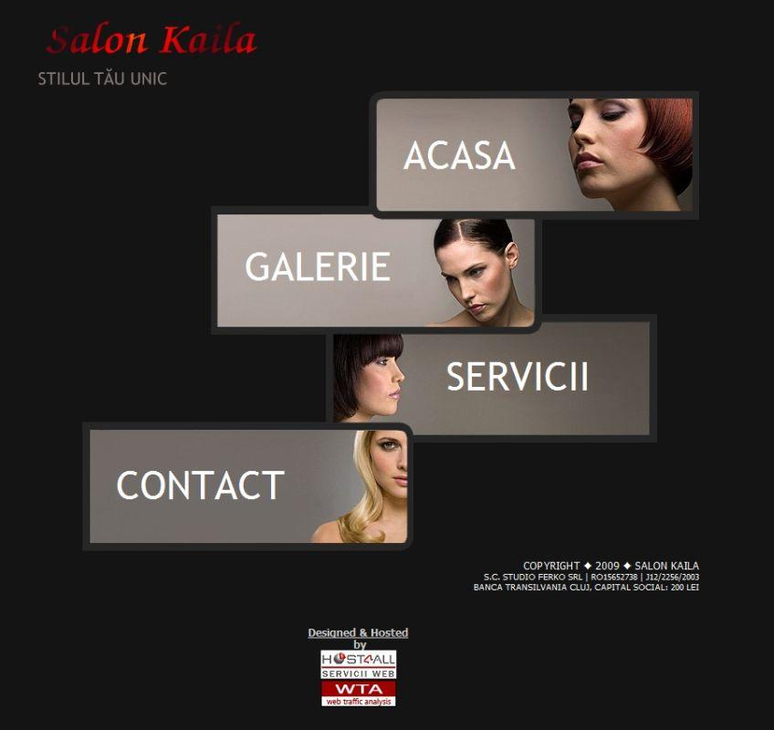 Web Design Cluj - SalonKaila