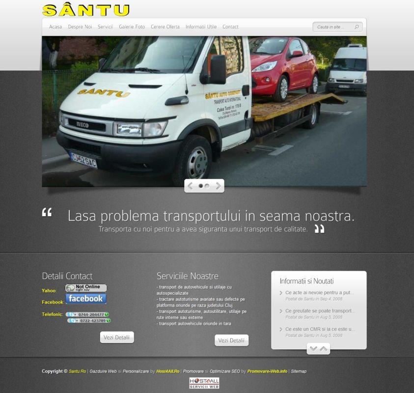 Web Design Cluj - Santu