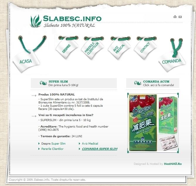 web design cluj - Slabesc