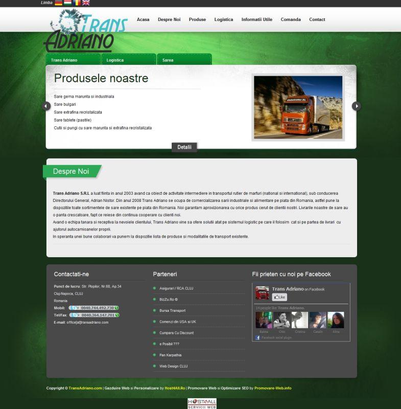 Web Design Cluj - Trans Adriano
