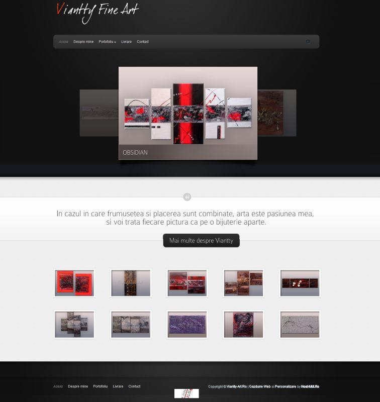 Web Design Cluj - Viantty Art