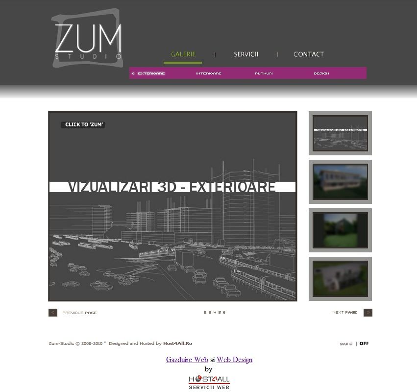 web design cluj - Zum Studio
