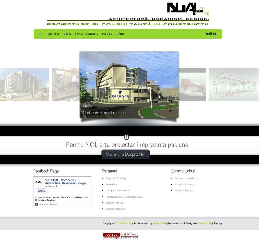 Web Design Cluj - Dual Office